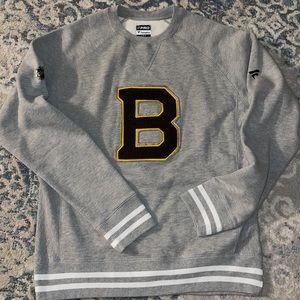 New NHL Boston Bruins Crewneck Sweater